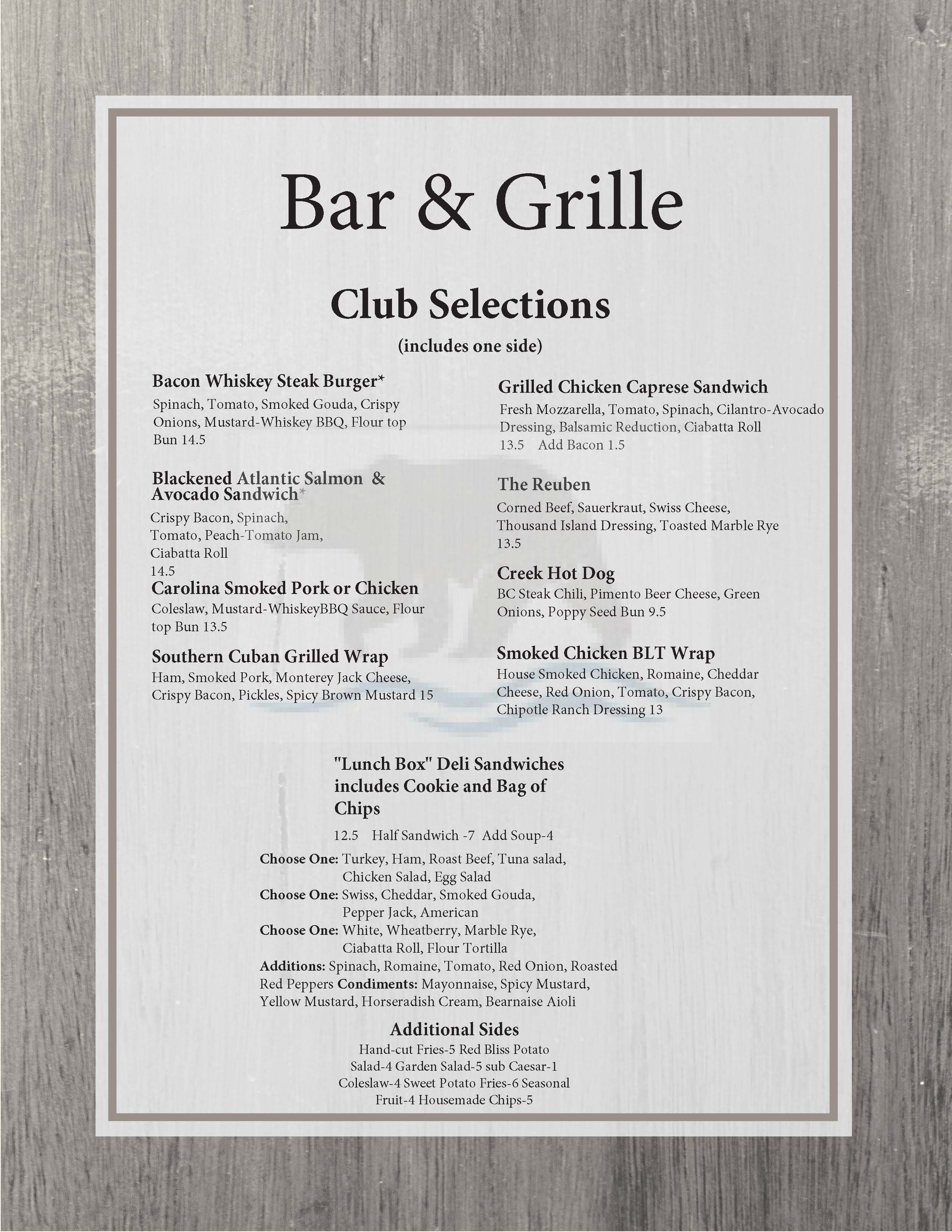 Club Selections 1